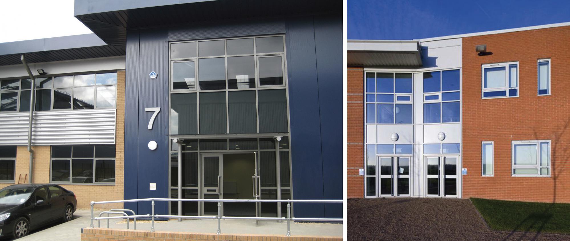 Aluminium Curtain Walling systems
