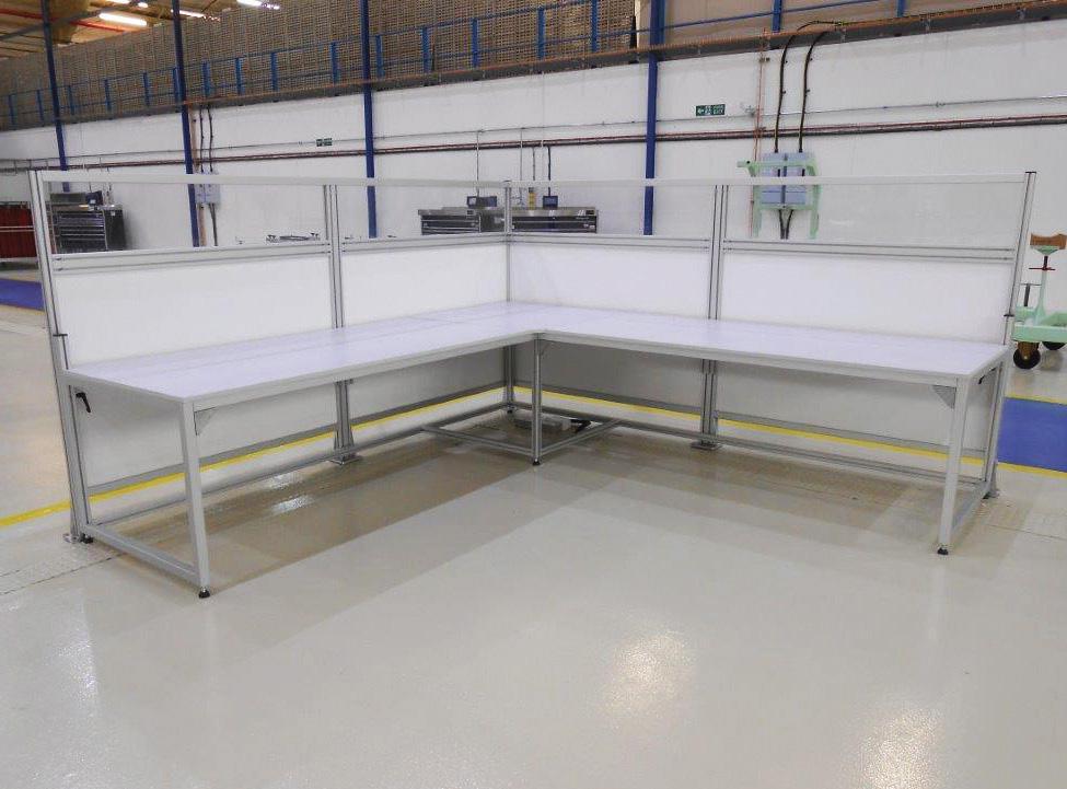 Aluminium Workplace