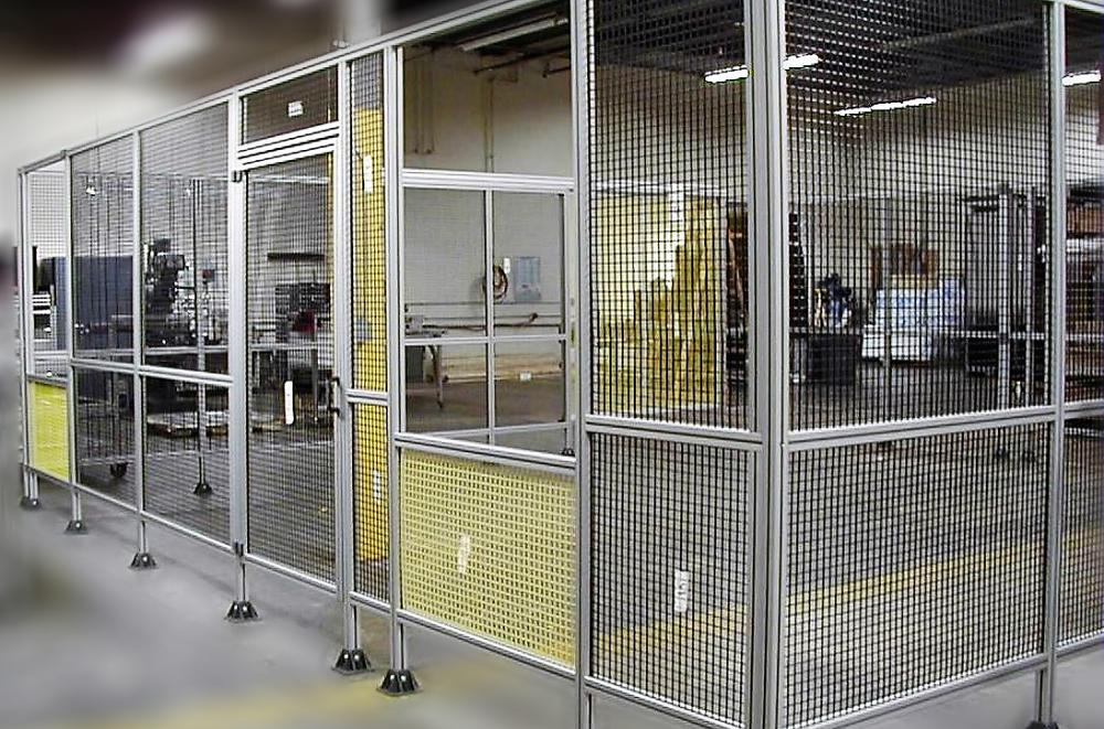 Aluminium Caging and Tables