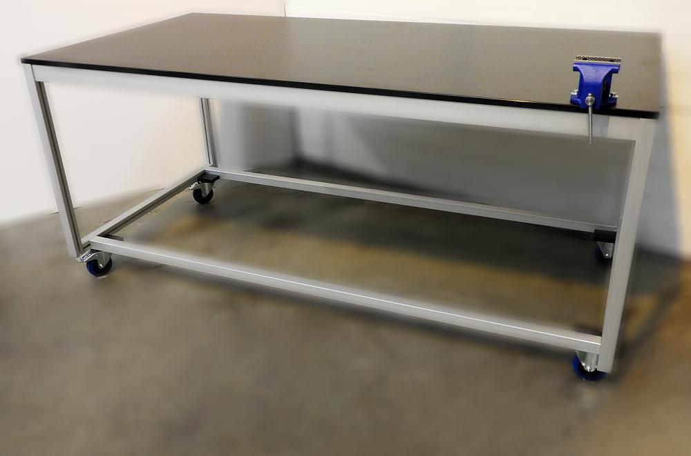 Aluminium Work Bench with Vice